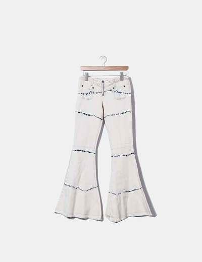 Pantaloni a zampa One x Oneteaspoon