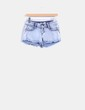 Short denim efecto desteñido Toxik3