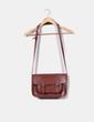 Bolso cartera marrón de piel  Satchel Bags
