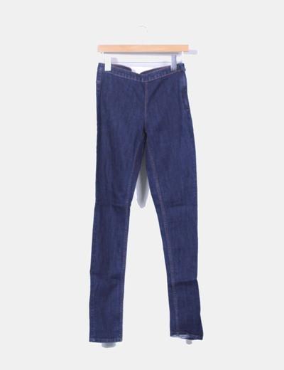 Jeggings denim azul oscuro H&M