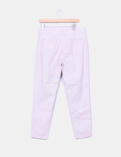 Pantalon baggy rosa