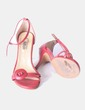 Sandalias rojas Cano