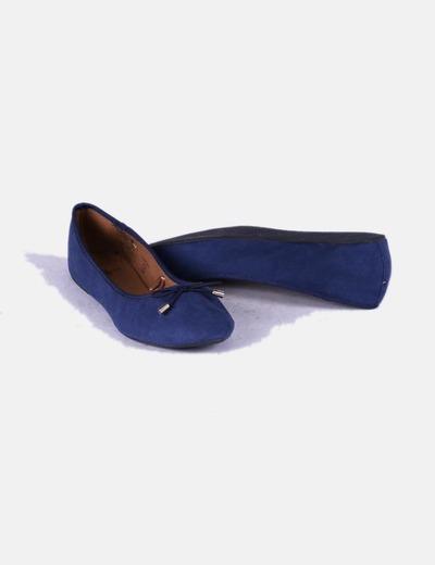 Bailarina azul marino