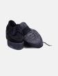 Zapatos blucher plataforma negras Sixty Seven