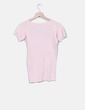 Camiseta rosa de punto Ralph Lauren