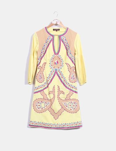 Vestido midi Chatik & Kertan