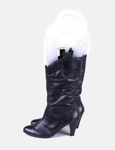 NoName - Botas cuña, talla: 39, Color Negro