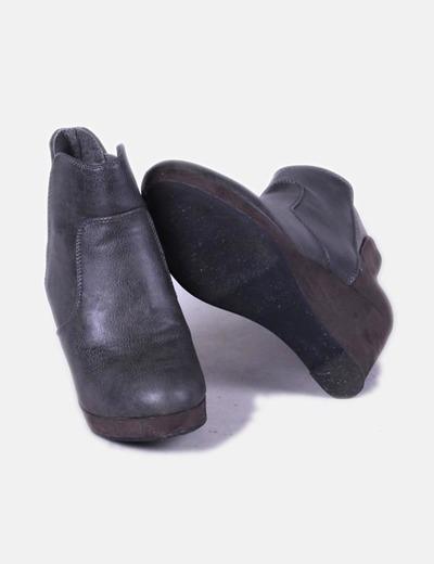 399554028 NoName Botines grises de cuña (descuento 84%) - Micolet