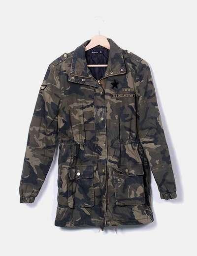 Veste camouflage femme stradivarius
