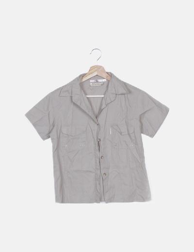 Camisa safari beige