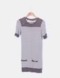 Vestido rayas de punto Zara