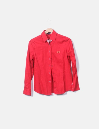 Chemise rouge Spagnolo