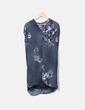 Vestido de gasa floral Massimo Dutti