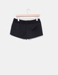Shorts noirs taille texturé Pinko