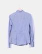 Camisa de rayas con chorrera Zara