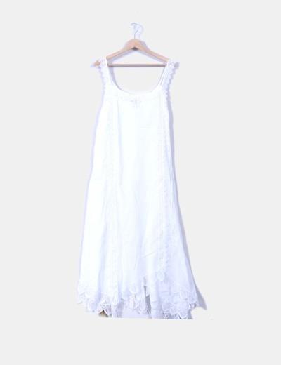 Vestidos playeros en blanco