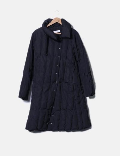 Abrigo acolchado negro Pennyblack