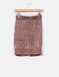 Mini falda drapeada en cobre H&M trend
