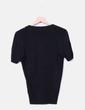 Cardigans paillettes noir avec tricot Trucco