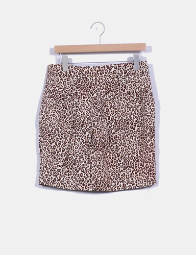 Falda tubo animal print Attentif