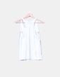 Top blanco tirantes print Atmos Fashion