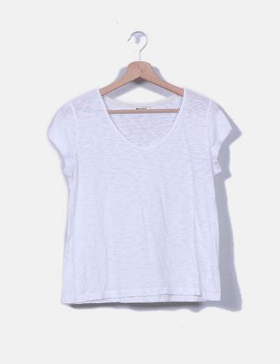 Camiseta blanca Meisïe