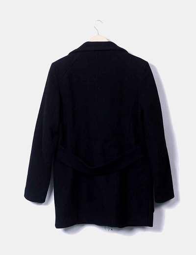 Abrigo cuello alto zara