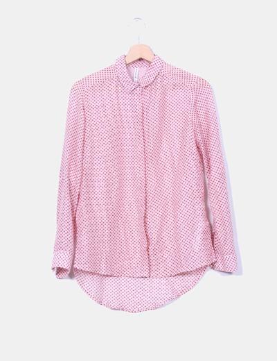 comprar lujo claro y distintivo mejor proveedor Camisa rosa estampada