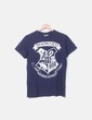 Camiseta azul marino print Harry Potter