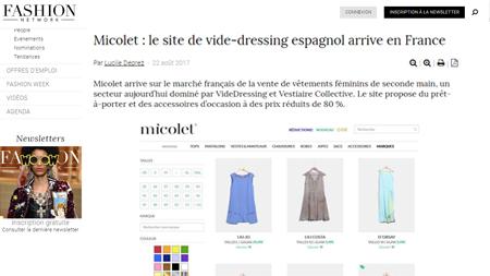 Micolet avis fashionnetwork
