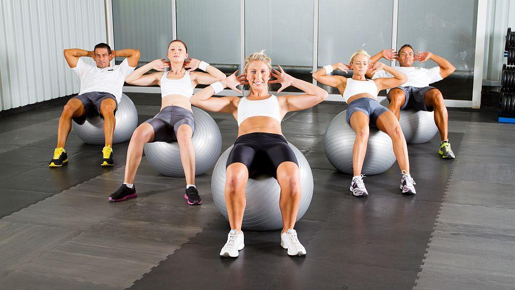 Fitness or Exercise Balls (swiss)
