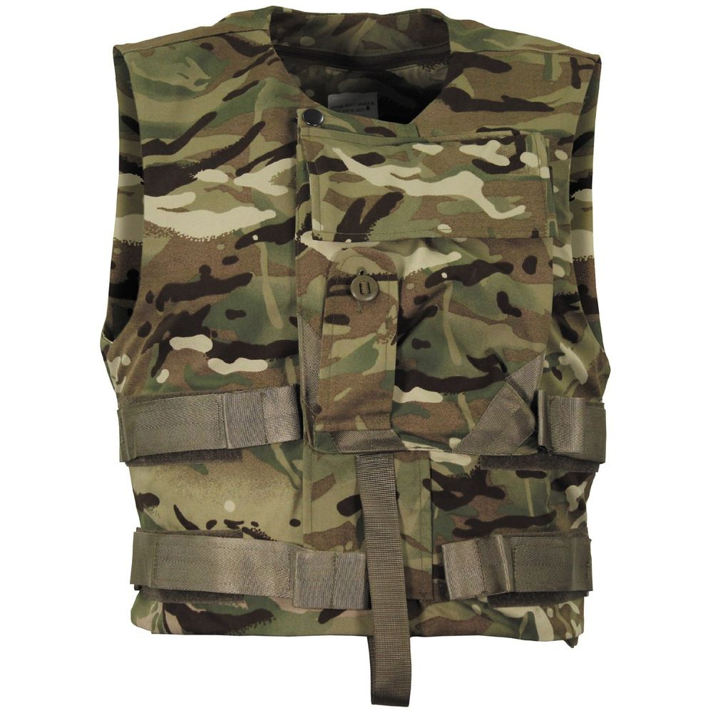 4e7562fbd5af6 British Army Issue Kevlar MTP Camo Vest Cover