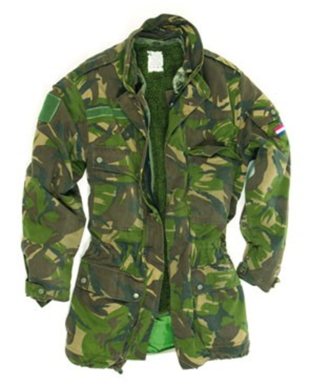 34f01a5f3 Dutch 3-in-1 DPM pile lined Camo Goretex Parka