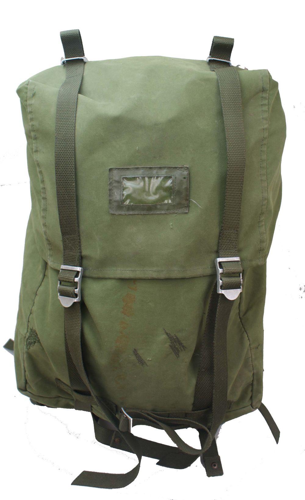 Swedish Army Lk35 Rucksack Canvas