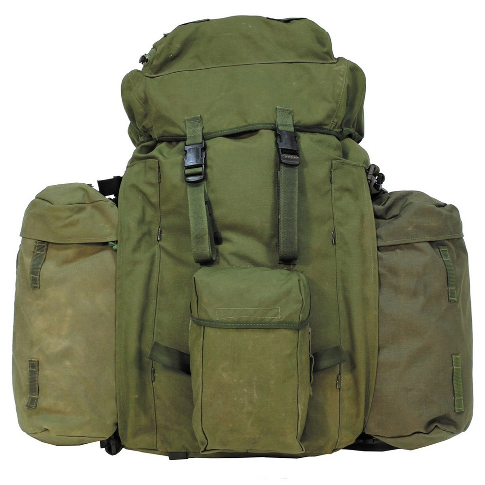 Genuine issue Infantry Long Back PLCE Bergen Olive Green