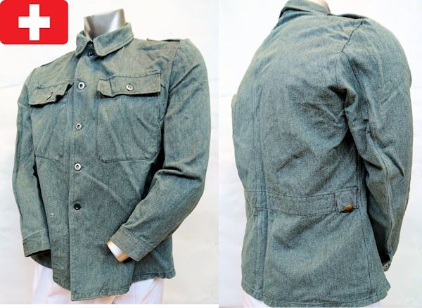 Swiss Army Denim Jacket Old Style