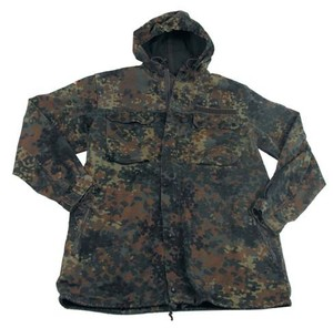 German Flecktarn Camo Parka