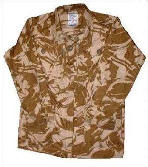 British Army Ripstop Solider 95 Desert Camo Jacket Smock