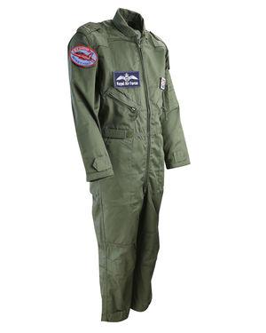 Kids Top Gun Olive Green Flight Suit
