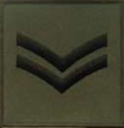 Corporal Jumper Patch