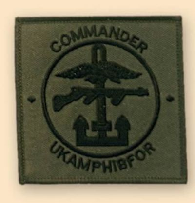 UKAMPHIBFOR Subdued Badge