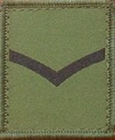 Lance Corporal Helmet Patch
