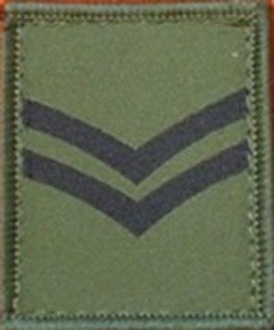 Corporal Helmet Patch