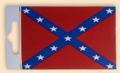Confederate army Flag Sticker