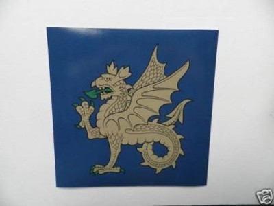 43 Division Wyvern Decal Sticker