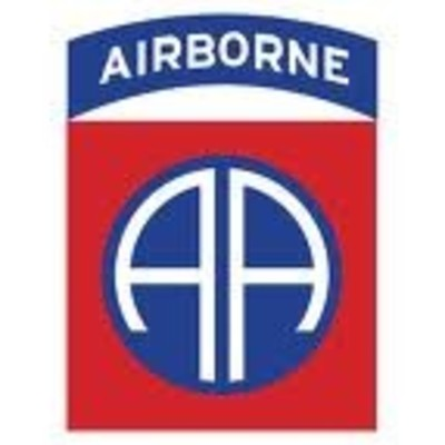82nd US Airborne Decal Sticker