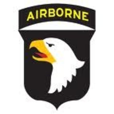 101st US Airborne Div Decal Sticker