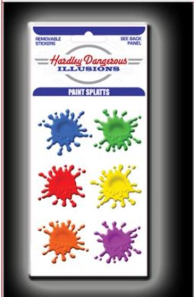 Hardley Dangerous Paintball Splatts Sticker