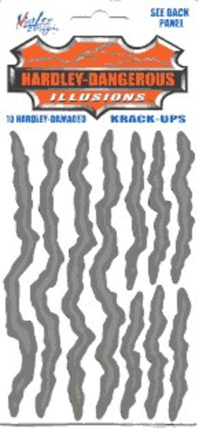 Hardley Dangerous Hardley-Damaged Krack-Up Sticker