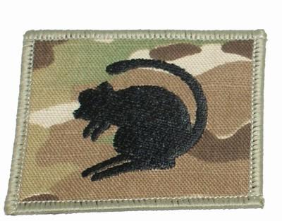 4th Armoured Brigade Desert Rat Badge Various Colours